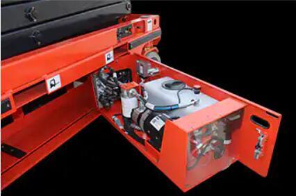 Hydraulic-pump-station-power-system