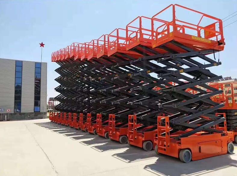 china-Self-propelled-scissors-Lift-factory